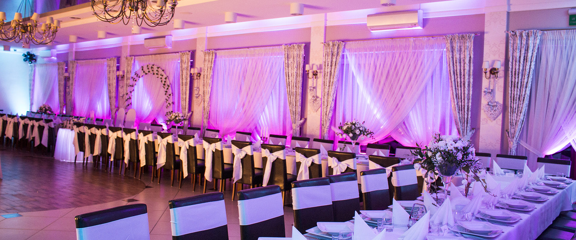 dekoracje światłem - najlepsza usługa na wesele
