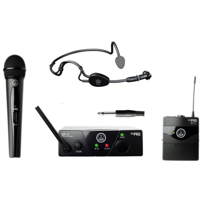 AKG WMS 40 MINI DUAL VOCAL SET mikrofon nagłowny