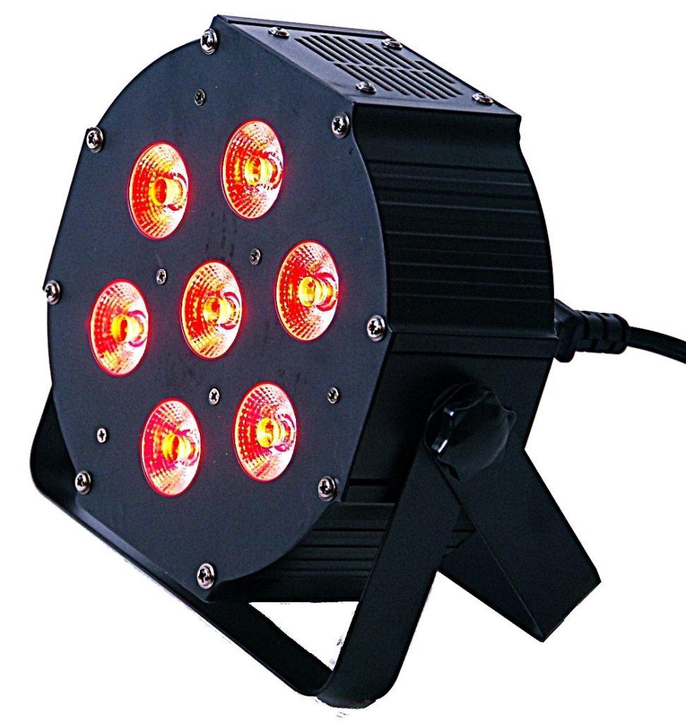 Light4me IRON Par reflektor Led do dekoracji na wynajem