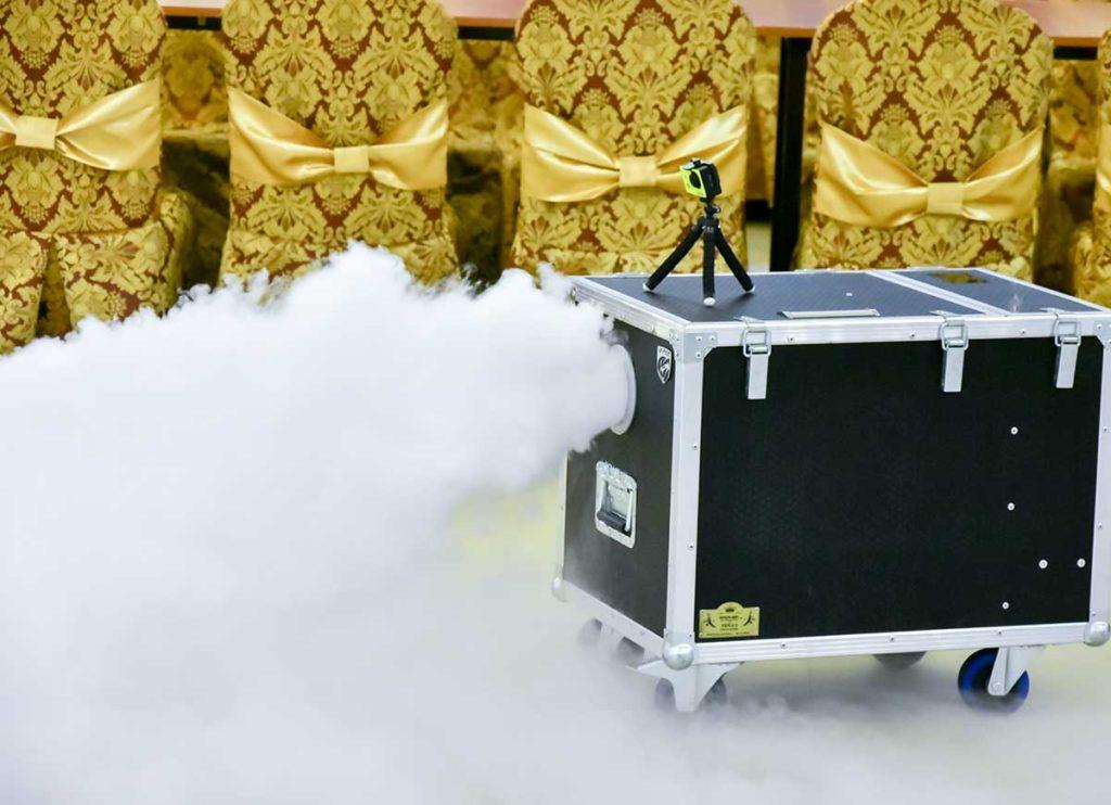 Maszyna do ciężkiego dymu