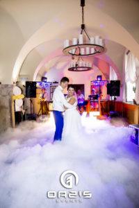 Taniec w chmurach młodej pary Głogów, czyli ciężki dym.