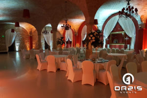 Pałac brunów dekoracja światłem
