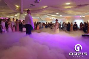 Zakochani pierwszy taniec w Chmurach Karczowiska