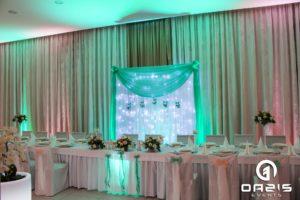 Hotel Europa w Lubinie i dekoracja światłem Oazis