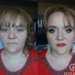 makijaż glamour, cera dojrzała