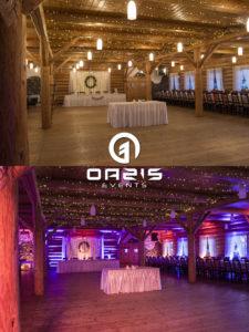 Przed i po dekoracji światłem, porównanie czy warto