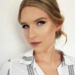 makijaż wieczorowy, glamour, blondynka