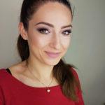makijaż ślubny, podkreślone oko, uśmiech, brwi, makeup, panna młoda